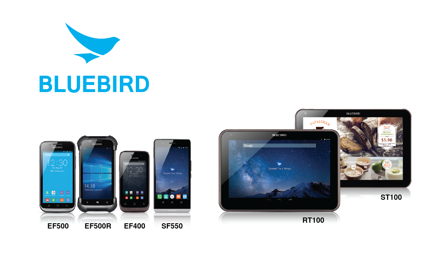 Bluebird Reveals Next Gen Industrial Tablets And