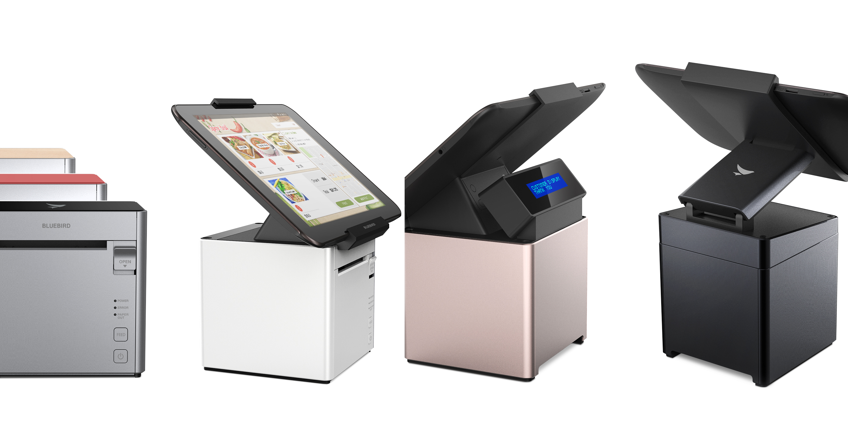 Bluebird s pt100 tablet pos wins 2017 if design award for for Innovate product design