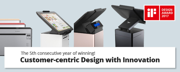 Bluebird's PT100 Tablet POS Wins 2017 iF Design Award for Innovative Product ...